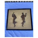 Vintage wooden art work