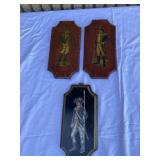 Soldier wooden wall hangings