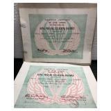 Vietnam Cong HOA. Certificate for Donald E. Stump