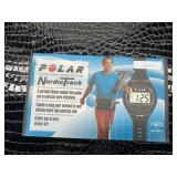 Polar heart rate Monitor for Nordic track