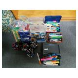 Lot of Ink Pens, Pencils, and Highlighters