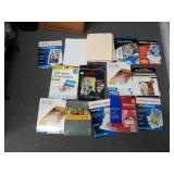 Lot of Labels and Printing Supplies