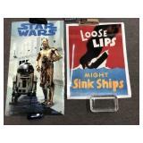 Vintage Star Wars C-3PO & R2-D2 Color