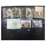 Lot of Postcards and a Souvenir