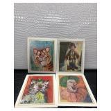 Art Prints By Michele Emmit Kelly Circa 1960