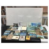 Lot of Postcards, Garden of Tea Book, Gift