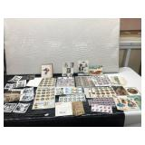 Lot of Vintage Photographs, Post Cards, Stamps,