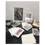 Two Prints and Several Sets of Note Cards