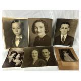 Lot of Six Vintage Photographs