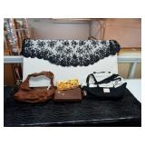 Two purses, one Victoria