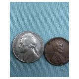 Lincoln head cent 1954