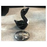lot of stone duck and stone art