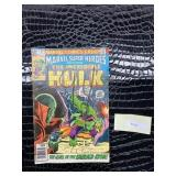 """The Incredible Hulk Marvel 1971 """"The Girl in the"""