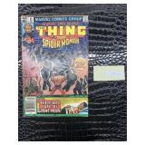 Marvel two in one featuring The thing in spider