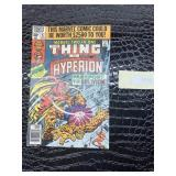 Marvel two in one thing and Hyperion 1980 MARVEL