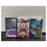 Lot of VHS movies Walt Disney fantasia , the
