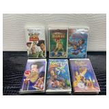 Lot of Disney movies VHS toy story 2, bambi,