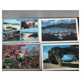 Lot of Four Cards of Bermuda and St. Thomas