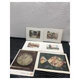 Lot of Six Art Prints