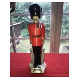 Vintage Windsor Supreme Canadian Soldier Decanter