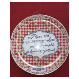 Decorative Plate There are no strangers here only