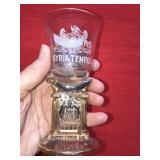 Antique 1902 Shriners Syria Temple Cup Pittsburg