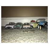 Lot 5 Retro Car Models