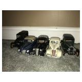 Lot 5 Retro Model Cars