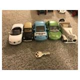 Lot 5 Assorted Toy Cars