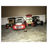 Lot 4 Retro Car models