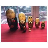 7 MATRYOSHKA RUSSIAN NESTING DOLLS  Made in