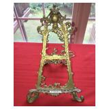 "Metal Easel Decorative 15"" tall"