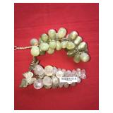 LOT 2 GRAPE BUNCHES STONE GREEN CLEAR