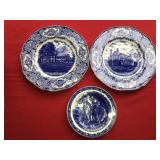 LOT 3 Memorial Plates Washington Lee Jackson