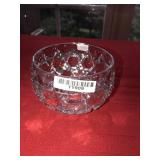 Pressed Glass Small Clear Bowl