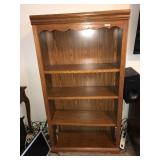 4 Shelf Bookshelf Wood Beautiful 32 x 58 13