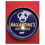 Ballantines Ale Beer Metal Tray