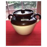 Vintage Hull Bean Pot with Lid