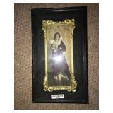 Framed Photograph Art Court Dress