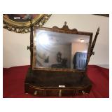 Antique Dressing Table Mirror and Drawers