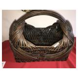 Large Woven Wicker Basket