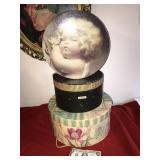 Lot 3 Hat Boxes 1 Vintage