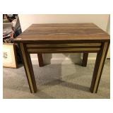 small wooden decor table