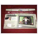 "8"" Widescreen Digital Picture Frame Slim Flat"