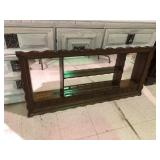 HANGING DISPLAY SHELF WITH MIRRORS