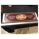 DR PEPPER DISPLAY TOPPER