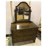 3 OVER W DRESSER WITH MIRROR