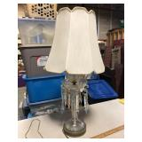 GLASS ANTIQUE LAMP