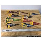 LOT OF 10 PENNANTS