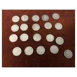 LOT OF 20 V NICKELS